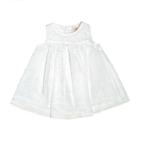 4802T-Vestido de plumeti blanco