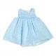 4802T-Vestido de plumeti azul