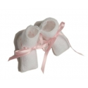 MQPQ-25-Patucos de lana lazo rosa
