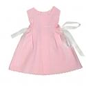 4801T-Vestido de piqué de canutillo rosa
