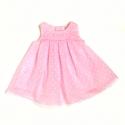 4802T-Vestido de plumeti rosa
