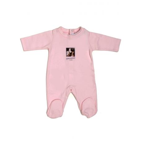 V8009-Pijama Babygrow Rosa