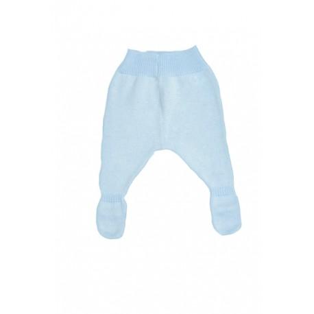 E-017-Polainas de perlé azul