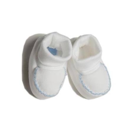 BS080-Patucos de algodón azul