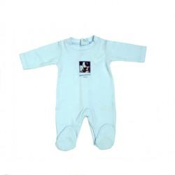 V8009-Pijama Babygrow azul