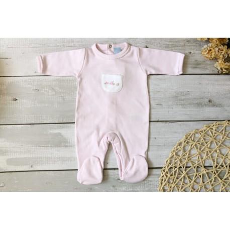 V8062-Pijama Babygrow Rosa