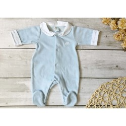 V8163-Pijama Babygrow Azul